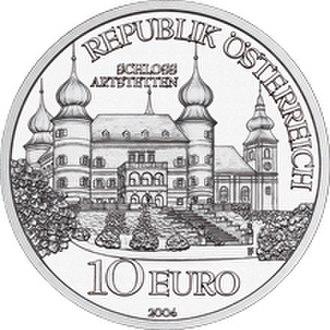 Artstetten Castle - The Castle of Artstetten coin (obverse)