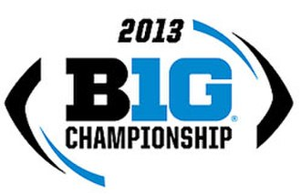 2013 Big Ten Football Championship Game - Image: 2013 Big Ten Football Championship Game logo
