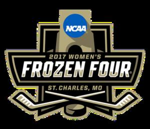 2017 NCAA National Collegiate Women's Ice Hockey Tournament - 2017 Women's Frozen Four logo
