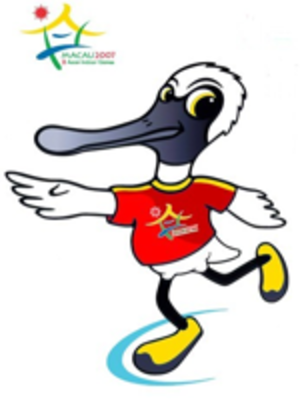 2007 Asian Indoor Games - Official mascot