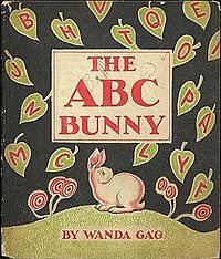 cover ABC Bunny by Wanda Gag