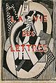 Albert Gleizes, c.1920, L'Homme dans les maisons, La Vie des Lettres (cover illustration), Jacques Povolozky & Cie, Paris, 1920.jpg