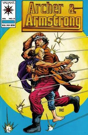 Archer & Armstrong - Image: Archer and Armstrong Cover 2
