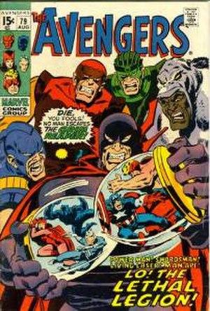 Lethal Legion - Image: Avengers 79
