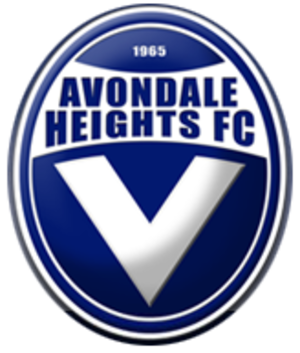 Avondale Heights Football Club - Image: Avondale heights fc logo