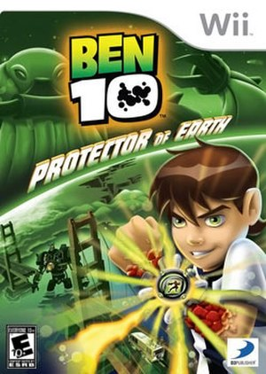Ben 10: Protector of Earth - Image: Ben 10 videogame