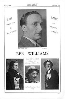 Ben Williams (actor) British actor