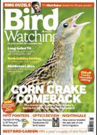Bird Watching (magazine) - Cover of May 2011 issue, showing a Corncrake