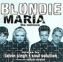 "US edition of the ""Maria"" single with alternative cover art."