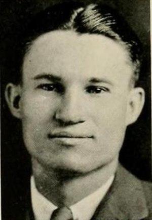Bo Shepard - Shepard pictured in Yackety yak 1936, UNC yearbook