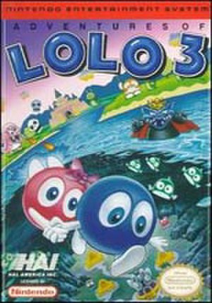 Adventures of Lolo 3 - North American cover art