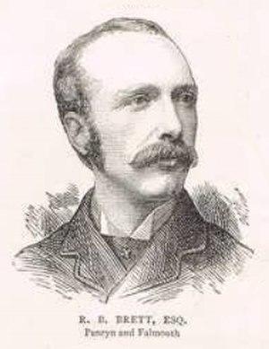 Reginald Brett, 2nd Viscount Esher - Brett in 1880