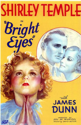 Bright Eyes (1934 film) - Theatrical poster
