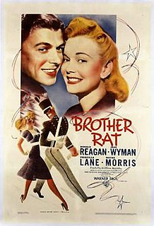 <i>Brother Rat</i> 1938 film by William Keighley