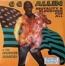 gg allin brutality and bloodshed for all