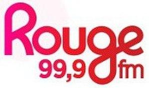 CFVM-FM - Image: CFVM 99,9Rougefm logo
