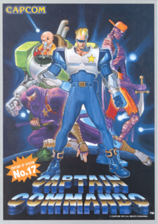 <i>Captain Commando</i> 1991 video game