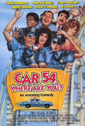 Car 54, Where Are You? (film) - Theatrical release poster