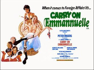 Carry On Emmannuelle - Original UK quad poster