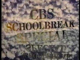 CBS Schoolbreak Special - Titular screenshot