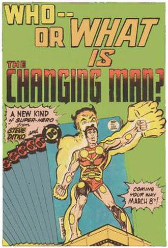 Shade, the Changing Man - The original Shade version by Steve Ditko.