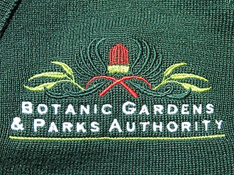 Department of Biodiversity, Conservation and Attractions (Western Australia) - Botanic Garden and Parks Authority chest logo on jumper, 2018