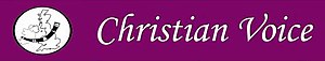 Christian Voice (UK) - Image: Christian Voice logo