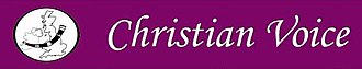 Christian Voice (UK) - Image: Christian Voice logo
