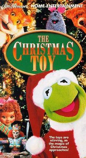 "The Christmas Toy - ""The Christmas Toy"" VHS cover"