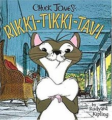 rikki tikki tavi in chuck jones animated film