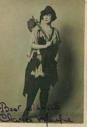 James W. Tate - Clarice Mayne, ca. 1905