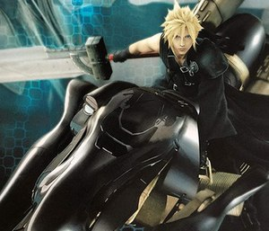 Cloud's design in Final Fantasy VII Advent Chi...
