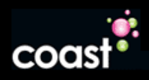 Heart North Wales Coast - Coast 96.3's final logo