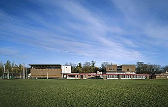 Coláiste Eoin - Coláiste Eoin's campus viewed from the Gaelic pitch