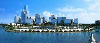 Port City Colombo Place in Colombo, Sri Lanka