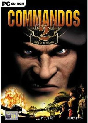 Commandos 2: Men of Courage - Image: Commandos 2Box