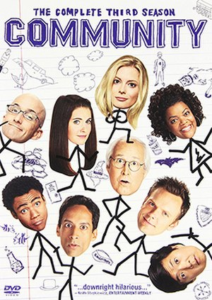 Community (season 3) - DVD cover