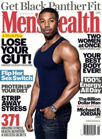 Men's Health - Cover of August 2012