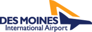 Des Moines International Airport - Image: Des Moines International Airport Logo