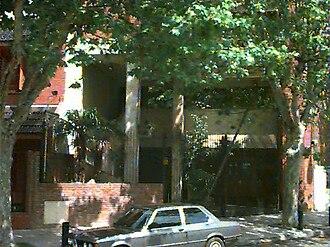 Dirección de Observaciones Judiciales - Facade of the DOJ building in Buenos Aires.