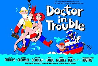 <i>Doctor in Trouble</i> 1970 film by Ralph Thomas