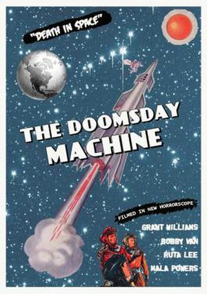Doomsday Machine (film) - Image: Doomsday Machine Film Poster