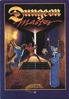 <i>Dungeon Master</i> (video game) 1987 video game