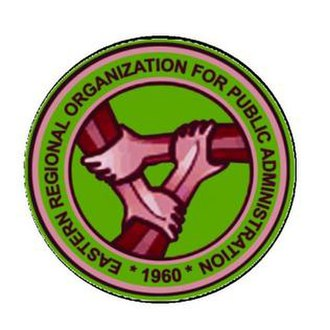 Eastern Regional Organization for Public Administration - Logo of the Eastern Regional Organization for Public Administration (EROPA)