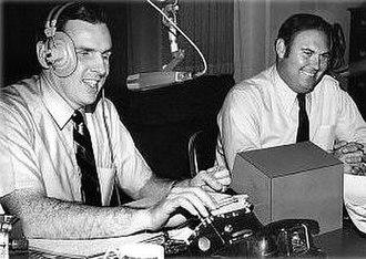 Joy Boys - Ed Walker (l) and Willard Scott, The Joy Boys (1965)