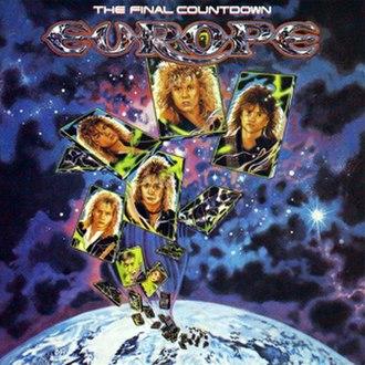 The Final Countdown (album) - Image: Europe the final countdown