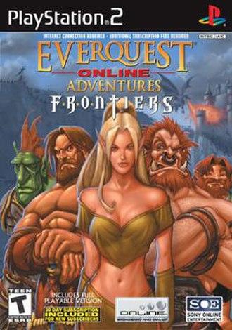 EverQuest Online Adventures - Frontiers cover art