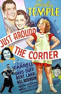 <i>Just Around the Corner</i> 1938 film by Irving Cummings