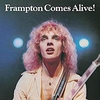 Frampton Comes Alive! cover