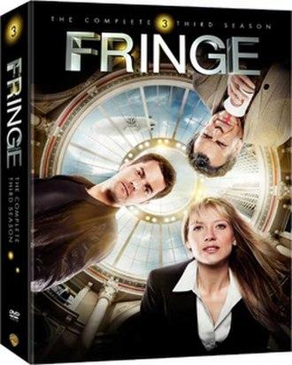 Fringe (season 3) - Region 1 DVD cover